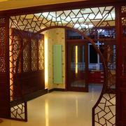 中式王府气质拱门装饰