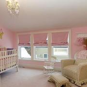 美式简约风格儿童房沙发装饰