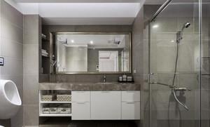 时尚现代简约小户型卫生间装修效果图