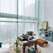 阳台简约风格飘窗装饰