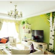 客厅窗帘设计图