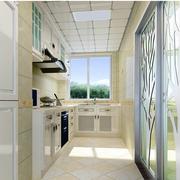 现代化简约厨房推拉门装饰