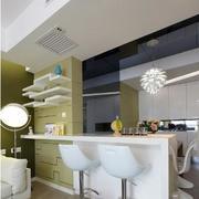 纯白色调的厨房设计