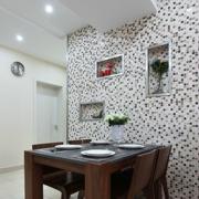 室内餐厅瓷砖田园款