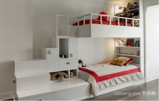 清新靓丽式儿童房装修效果图