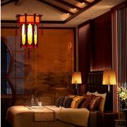东南亚深色系卧室吧台装饰