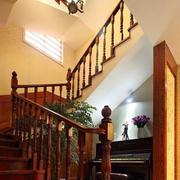 唯美的楼梯造型图