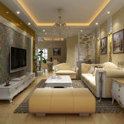 中式风格客厅沙发装饰