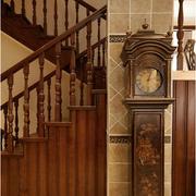 中式阁楼楼梯新古典