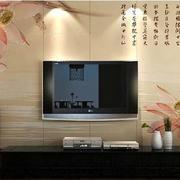 中式客厅字画背景墙装饰