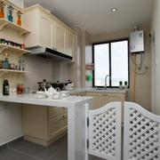 欧式田园风格小型厨房装饰