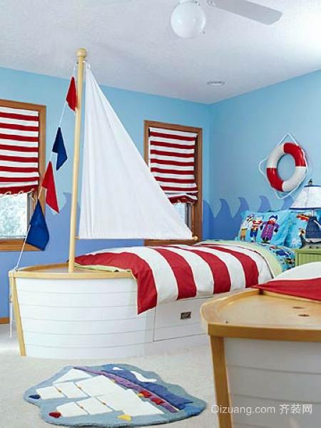 男孩儿童房装修效果图
