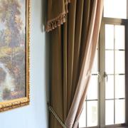 法式风格客厅飘窗装饰