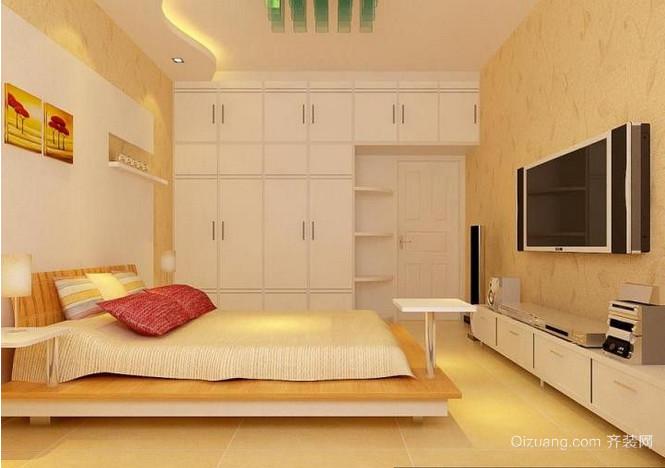 欧式现代元素客厅电视背景墙效果图