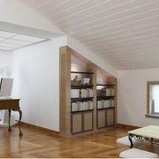 现代简约风格阁楼客厅茶几装饰
