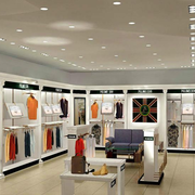 后现代风格服装店柜台装饰