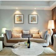 北欧客厅窗帘优雅款式