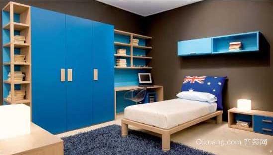 30平米现代简约儿童房装修效果图