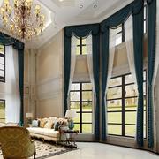 法式别墅高层飘窗装饰