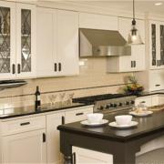 美式风格厨房吧台装饰