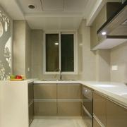 复式楼简约风格厨房橱柜装饰