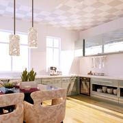 密集式厨房密集式吊顶装饰