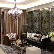 现代客厅飘窗设计图