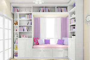 即将铸就栋梁的书房装修设计效果图