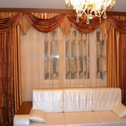 欧式奢华风格客厅窗帘装饰