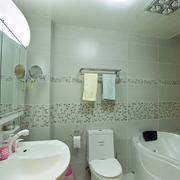 欧式简约风格卫生间浴缸装饰