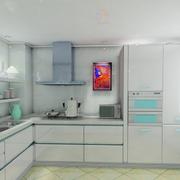 现代简约风格厨房橱柜装饰