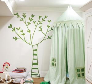 三室二厅大户型欧式卧室墙贴背景墙装修效果图