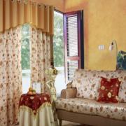 美式乡村风格客厅沙发装饰