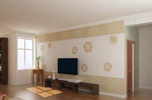 2015高品味卧室及客厅墙衣效果图