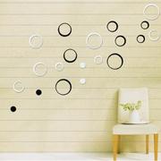 墙贴图片欧式圆圈款
