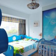儿童房设计蓝色款