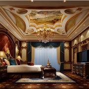 巴洛克卧室奢华电视柜装饰设计