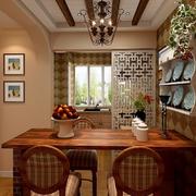 混搭风格厨房餐桌装饰