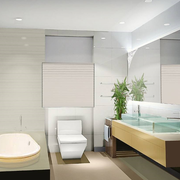 三室两厅简约现代洗手间