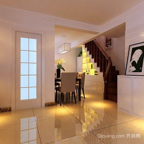 120㎡复式楼楼梯装修效果图