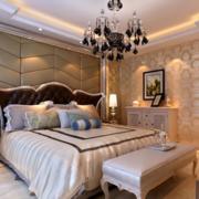 别墅简约风格卧室墙饰装饰