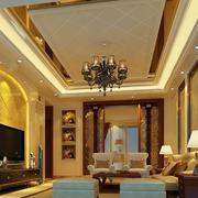 客厅吊顶现代话设计