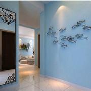 客厅玄关墙面装饰