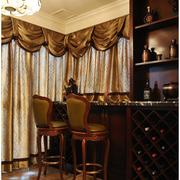 美式古典酒柜吧台装饰