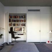 卧室小书房隐形门