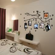 墙贴图片现代创意款