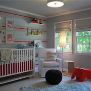现代简约风格儿童房照片墙装饰