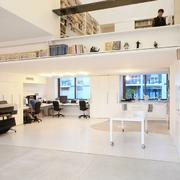 现代办公室唯美图