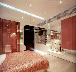 精致的卧室整体图