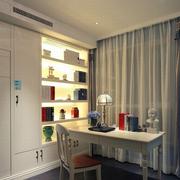 公寓卧室空间书房